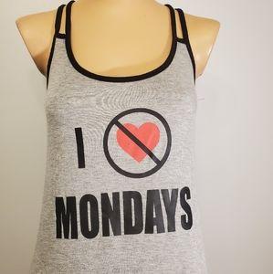 "Tart Intimates ""I Hate Mondays"" Tank Top"